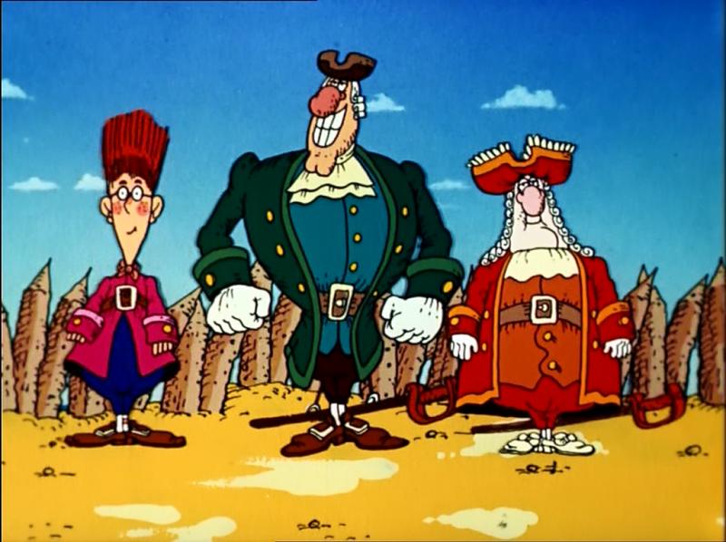 Порно мультфильм пиратские сокровища